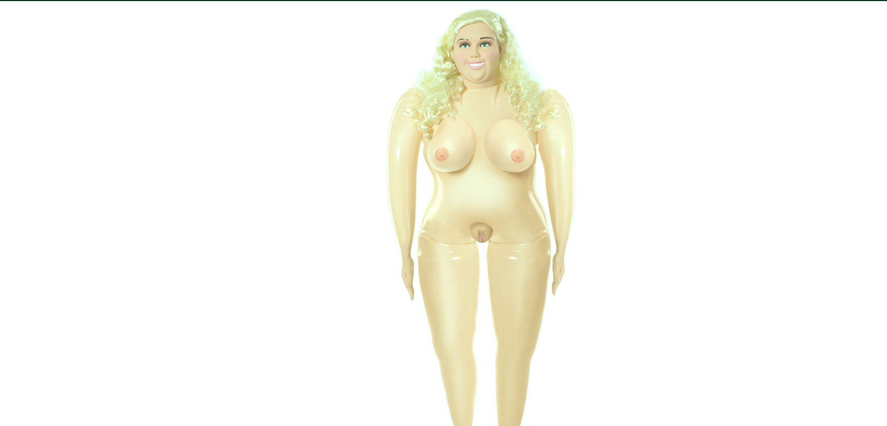 Big Beautiful Becky Realistic Inflatable Sex Doll.