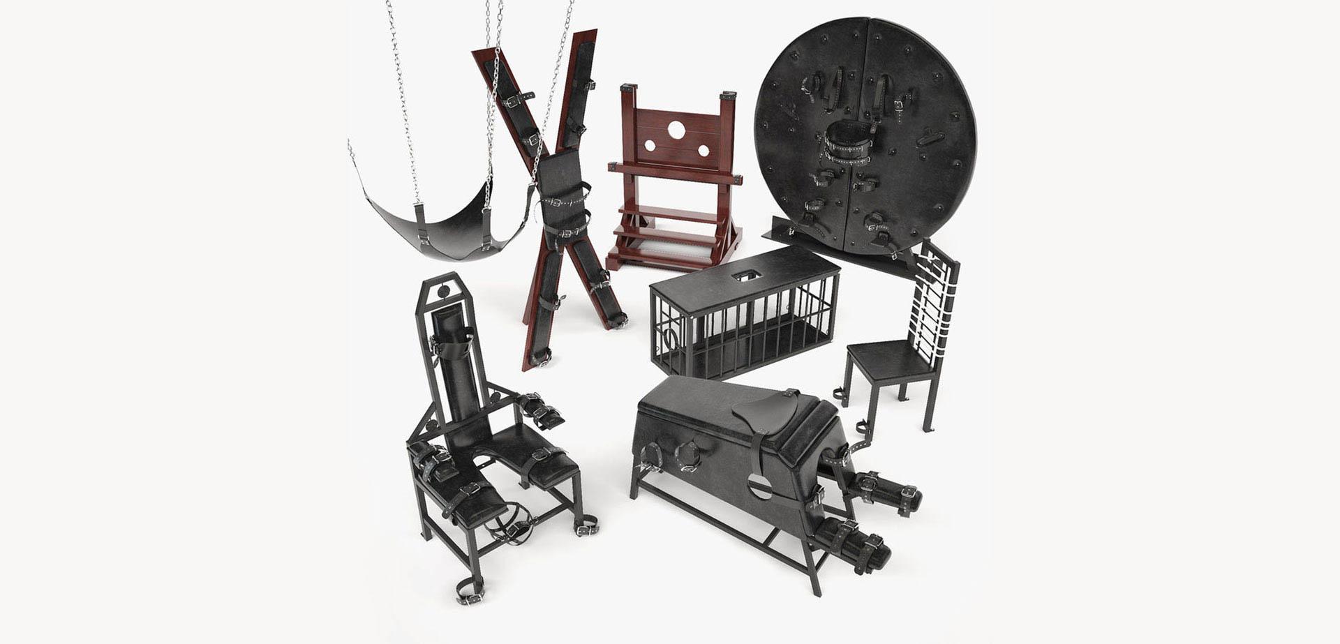 Muebles de esclavitud.